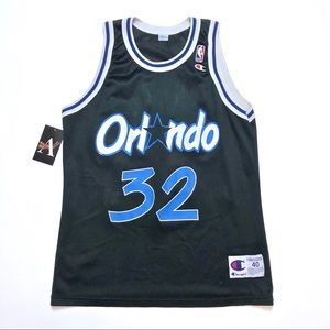 Shaquille Oneal Orlando Magic Champion Jersey 40 M